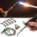 PoeHXtyy Schmuck Micro Mini Gas Little Torch Welding Lötset mit