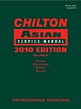 Chilton Asian Service Manual, 2010 Edition, Volume 4: Mazda, Mitsubishi, Subaru, Suzuki (Chilton's Asian Service Manual)