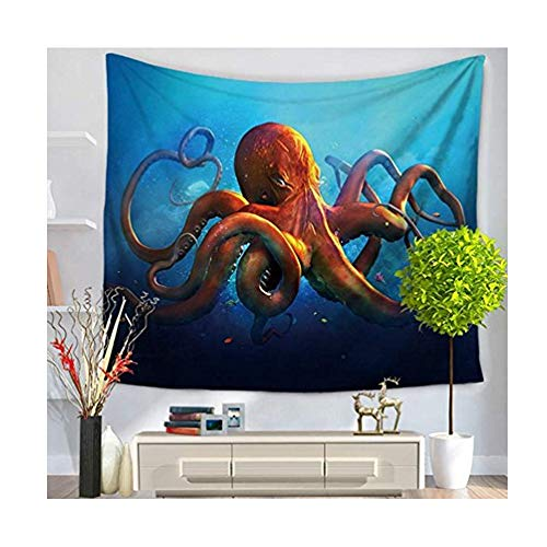 LvBo Sea Animal Decor Beach Towel Tapestry Table Cloth Cover Wall Hanging Tapestry for Bedroom Living Room Dorm, 59