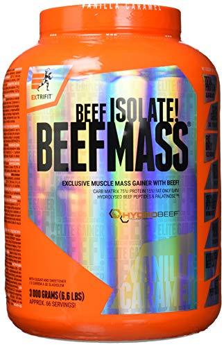Extrifit Beefmass Vanilla-Caramel, 3 kg