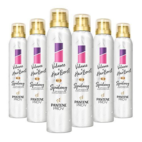 Pantene Pro-V Volume+ Hair Boost Schaum-Pflegespülung, 180ml (6 x 180 ml)