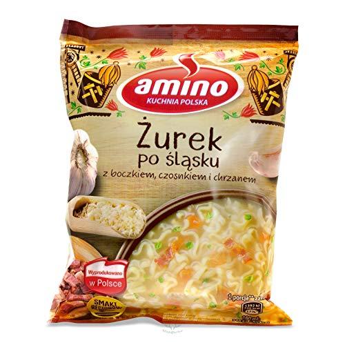 Amino - Nudel - Mehlsuppe (Zurek) auf Schlesisch mit Speck, Knoblauch und Meerrettich 65g