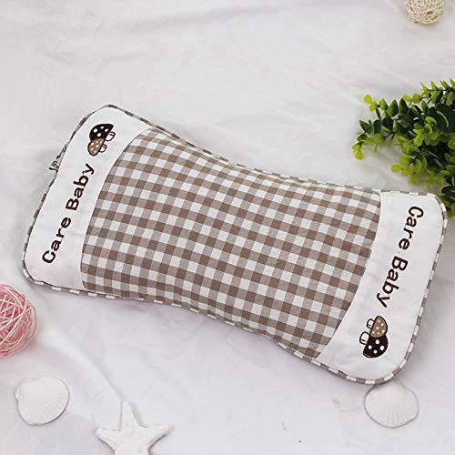 JHMAOYI Kissen gewaschener Baumwolle Kinder Buchweizen Kissen Baumwolle Kindergarten Baby Student Stickerei geformte Kissen.