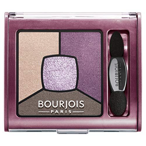 Bourjois - Smoky Stories Quad Palette Ombre à Paupières - 15 Pretty Plum - 3,2 g