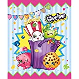Unique Industries (1) 8pc Set Shopkins Loot Bags/Treat Bags with Handle - Approx. 7.25' x 9' each
