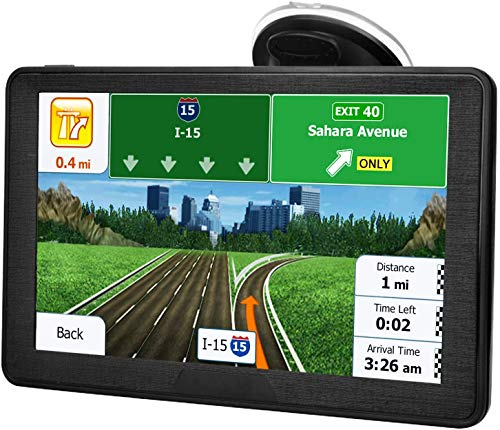 Sat Nav for Car, 7 Inch GPS Navigation Includes Postcodes, Speed Camera Alerts & POI Lane Assistance, Pre-lnstalled UK and EU 2020 Latest Maps Free Lifetime Updates …