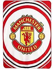 Red Devils Giant Manchester Utd Zachte Polyester Fleece Deken & Gooi (125cm x 150cm)