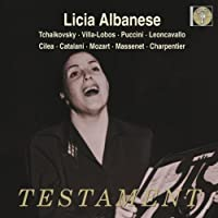 Licia Albanese by Various Composers (2008-10-14)