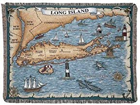 Simply Home Long Island New York Tapestry Throw Blanket 50