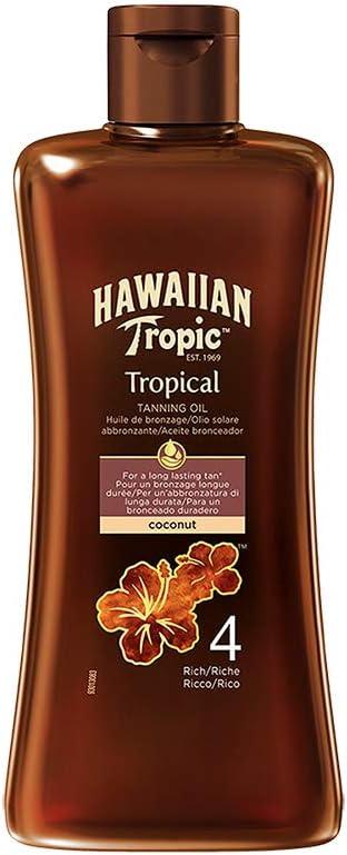 New York Mall Hawaiian Tropic Tanning Oil Ml Max 73% OFF 4 200 Rich