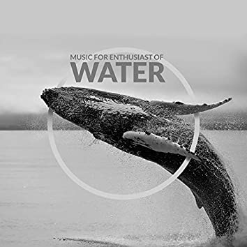 Music for Enthusiast of Water. Soothing Sounds of Waterfall, Waves, Rain