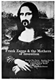 QINGAIWEI Frank Zappa Poster ~ Mona Lisa Boston Tea Party ~