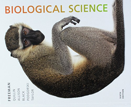 1 best biological science freeman 6th edition 9780134577821 for 2020