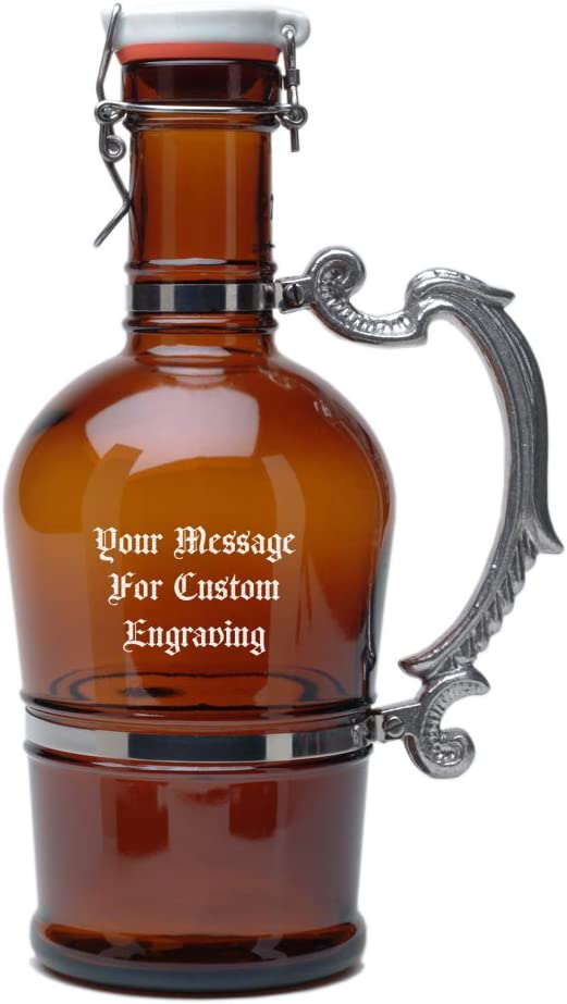 Personalized German Beer Growler mart 2 Virginia Beach Mall Liter Flip Rom with Style Top