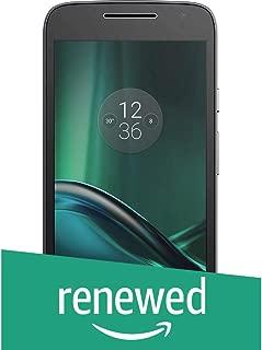 (Renewed) Motorola G4 Play XT1602 (Black, 16GB)