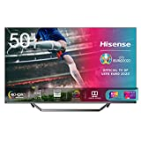 Hisense 50U71QF Smart TV ULED Ultra HD 4K 50', Quantum Dot, Dolby Vision HDR, HDR10+, Dolby Atmos, Full Array Local Dimming, con Alexa integrata, Tuner DVB-T2/S2 HEVC Main10 [Esclusiva Amazon - 2020]