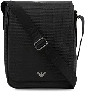 Armani Jeans Men Black Crossbody Bags