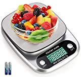 Digital Kitchen Scale 5000g/ 0.1g Tare Function g/ oz/ ml/ ct/ kg/ tl/