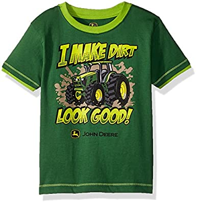 John Deere Boys' Toddler T-Shirt, Green, 2T