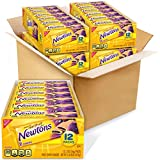 Four trays with 12 cookie snack packs each (2 cookies per pack), 48 total packs, of Newtons Soft & Fruit Chewy Fig Cookies Soft cookies made with real fruit and no high fructose corn syrup 10 g of whole grain per 56 gram serving Pack in a lunchbox fo...