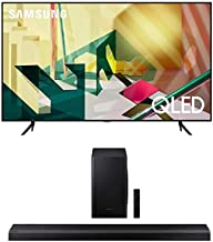 SAMSUNG 65-inch Class QLED Q70T Series - 4K UHD Dual LED Quantum HDR Smart TV with Alexa Built-in + HW-Q70T 3.1.2ch Sound...