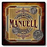Manuell Premium Coffee Personalized Neoprene Drink Coasters ZuWEE Original