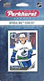 Vancouver Canucks 2018/19 Upper Deck Parkhurst NHL Hockey EXCLUSIVE Limited Edition Factory Sealed 10 Card Team Set including Elias Pettersson ROOKIE, Brock ... rookie card picture