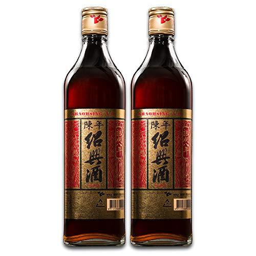 台湾陳年紹興酒 (熟成8年) 600ml (2本セット)