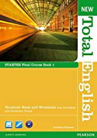 New Total English Starter Split Edition Student Book A with DVD/ActiveBook CD-ROM and Workbook with Audio CD