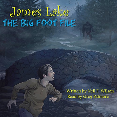 James Lake - the Big Foot File audiobook cover art