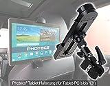 Photecs Universal Auto Tablet-Halterung Pro V1 für iPad Pro und andere Tablet-PC bis zu 14 Zoll...