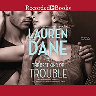 The Best Kind of Trouble audiobook cover art