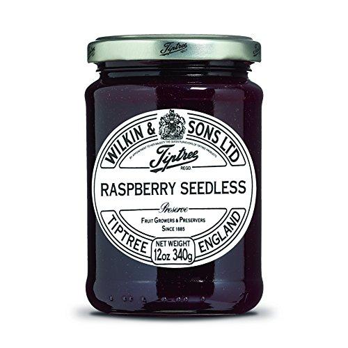 Tiptree Raspberry Seedless Preserve, 12 Ounce (Pack of 1) Jar
