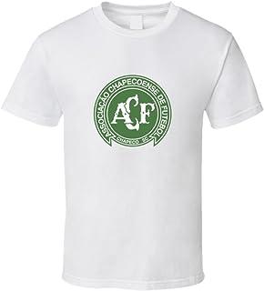 Brazil Chapecoense Football Soccer Logo Sports Club T Shirt 2XL White