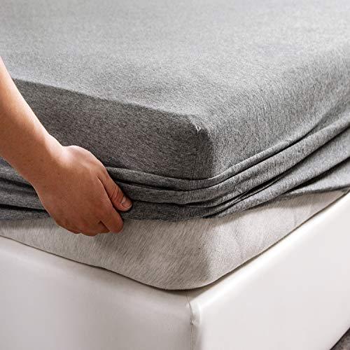 PURE ERA Jersey Knit Cotton Fitted Bottom...