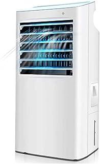 FANGFANG Enfriador de Aire portátil Ventilador Calentador Ventilador del hogar Dormitorio pequeño móvil pequeño Aire Acondicionado 35 * 29 * 76cm (Color : White+Blue)