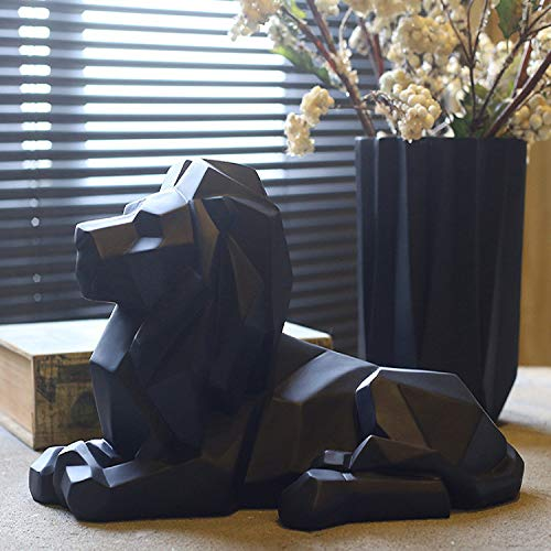 Nordic Resin Ornaments Crafts Creative Home Living Room Office Creative Animal Lion Craft Ornaments