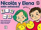 Pictogramas: Nicolás y Elena están enfadados: 25 (Pictogramas: lecturas fáciles para niños...