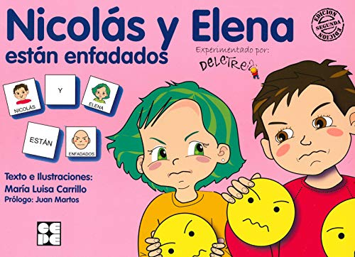 Pictogramas: Nicolás y Elena están enfadados: 25 (Pictogramas: lecturas fáciles para niños con dificultades)