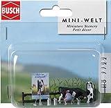 Busch 7722 - Mini-Welt: Milchtankstelle -