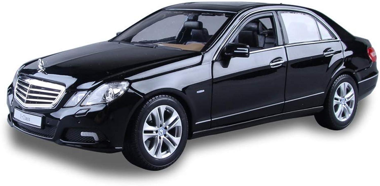 presentando toda la última moda de la calle KaKaDz Wei KKD Escala Modelo Simulación Vehículo 1 18 Escala Escala Escala Modelo Mercedes-Benz E300L Modelo Diecast Metal Tire hacia atrás Modelo de Coche Juguete para Regalo   Niños   Colección ( Color   negro )  buena calidad