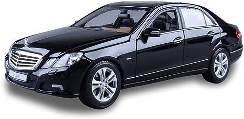 KKD Scale-Modellfürzeuge 1 18 ma ab modell mercedes-benz e300l modell diecast metall zurückziehen auto modell spielzeug für geschenk kinder sammlung Mini fürzeuge (Farbe   schwarz)