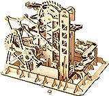 Zulux Puzzle 3D-mecánica de Madera Modelo de Madera-Craft Kit-Bricolaje asamblea del Juguete-Mechanical Gears Set-Juegos Rompecabezas-Mejores Regalos Coaster Torre