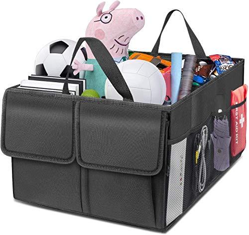 MGDAM Auto Starter Aufbewahrungstasche, Auto Speicherorganisator faltbar, Kofferraum Aufbewahrungsbox