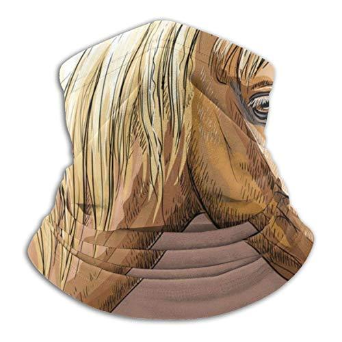 Lzz-Shop Bandage, handbeschilderd, motief paard, Portrait-7