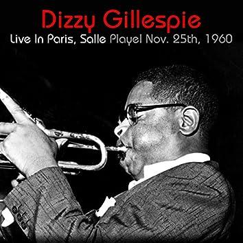 Dizzy Gillespie: Live In Paris, Salle Playel Nov. 25th, 1960
