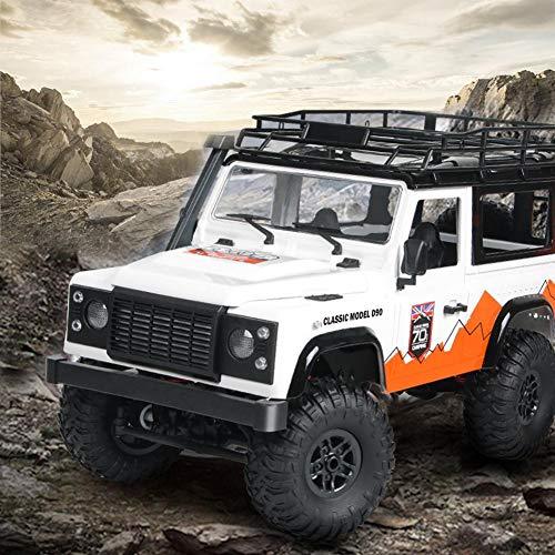 RC Auto kaufen Crawler Bild 2: jinclonder ferngesteuerte Autos, Land Rover Defender Modellauto Anniversary Edition, RC Rock Crawler Buggy, Offroad-Militär-Truck/Allround-Simulationssteuerung*