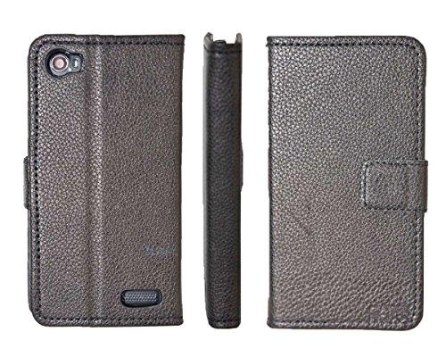 caseroxx Tasche für Medion Life E4506 MD 99478 Bookstyle-Case in schwarz Cover Buch