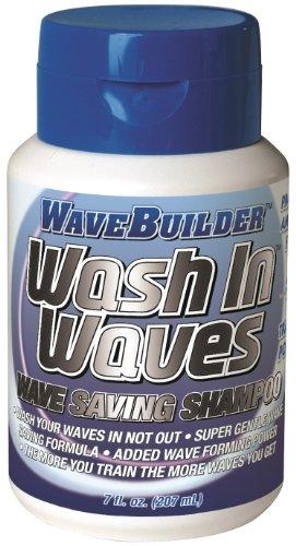 WaveBuilder Wash In Waves Shampoo, 7 oz (Pack of 2)