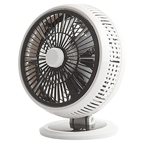 DXDHUB Mini ventilador de escritorio, inclinación ajustable, pequeño ventilador de mesa personal, para el hogar, la oficina